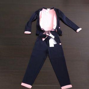 Billieblush 2 piece jacket and pant set